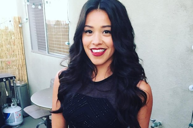22 Photos Of Gina Rodriguez That Prove She's An Actual Angel