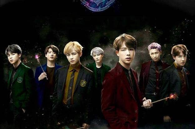This Fan Reimagined Harry Potter With BTS And It's Dope AF