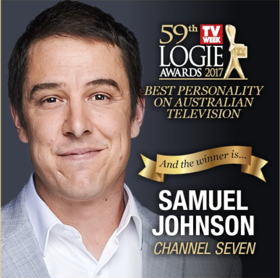 Winner: Samuel Johnson – MollyGrant Denyer – Family Feud, The Great Australian Spelling Bee Jessica Marais – Love Child, The Wrong Girl Peter Helliar – The Project Rodger Corser – Doctor Doctor, The Doctor Blake MysteriesWaleed Aly – The Project