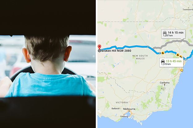 A 12-Year-Old Boy Drove About 1,300 Kilometres Before He Was Pulled Over