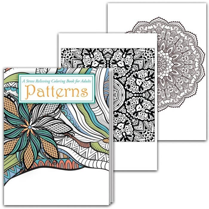 A Soothing Adult Coloring Book For Nights The Wine Just Isnt Cutting It Or You Need Both