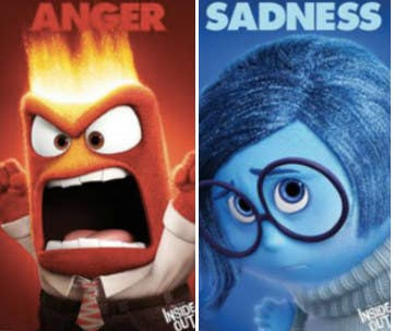 Remember Anger and Sadness from Inside Out?