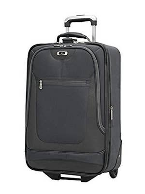 245e36454 An expandable carry-on that comes with a five-year limited warranty.