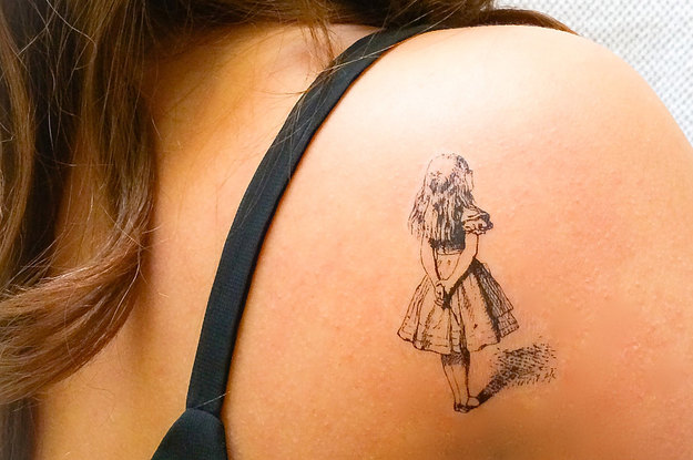 25 Stunning Temporary Tattoos For People Who Can\'t Commit
