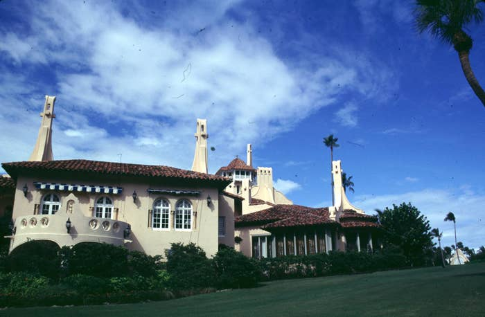 The estate was the property of Marjorie Merriweather Post, heiress of the Post cereal fortune, who willed the full estate to the US government when she died in 1973. But the grounds were too expensive to keep up and so it was returned to the Post estate just a few years later in 1981. Trump himself purchased the property in 1985.