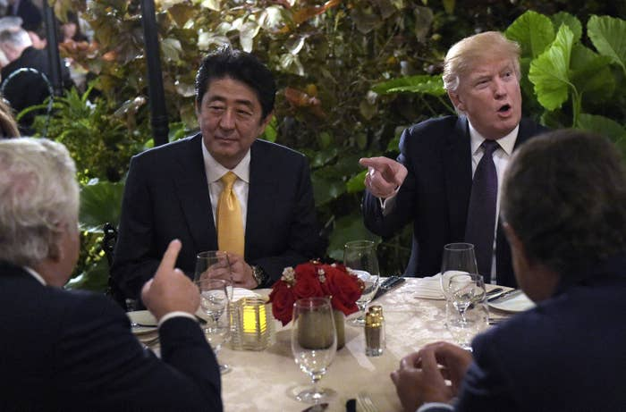 Japanese Prime Minister Shinzo Abe was the first world leader to be spirited away to the club, which charges a $200,000 members fee.