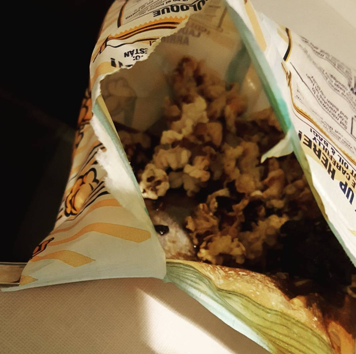 Nothing smells worse than a house of burnt popcorn.