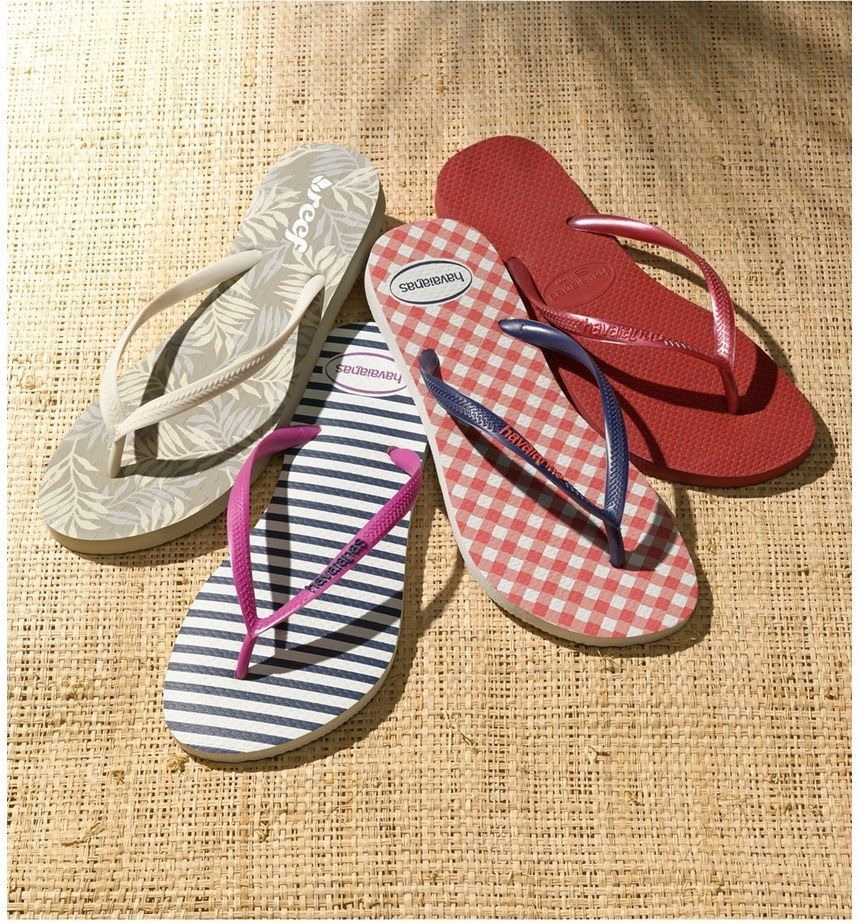 Some Havaianas because they're basically the best damn flip-flops the world  has ever known.