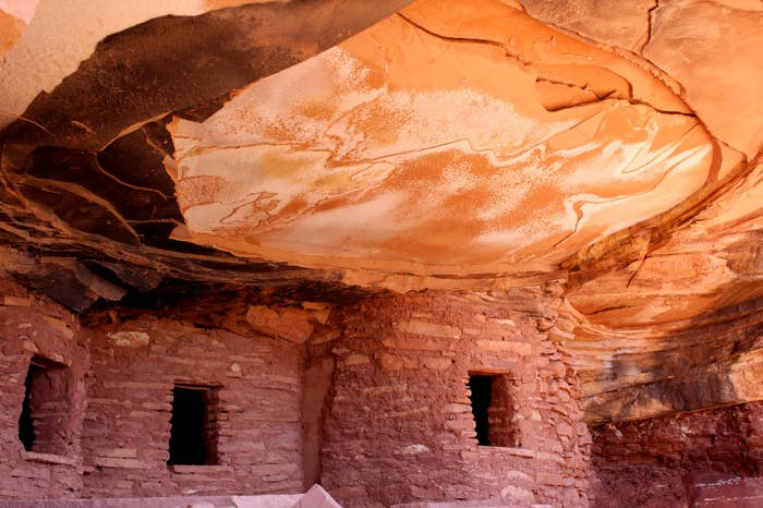 Native American ruins in the Bears Ears National Monument.