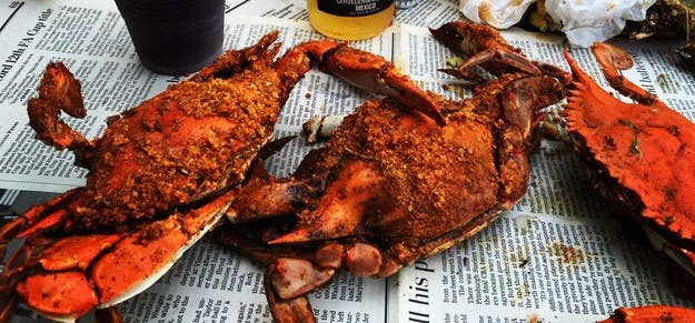 """The best steamed and seasoned crabs in a brown paper bag. Delicious!"" —courtneymillerb"