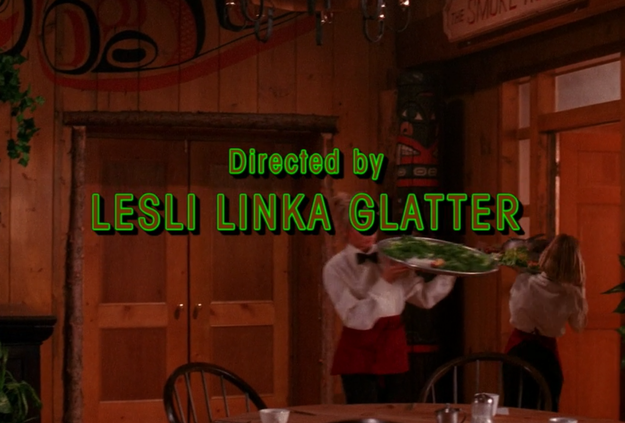 Every episode directed by Lesli Linka Glatter has a convention taking place at the Great Northern hotel.