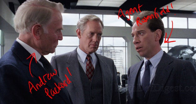 Ferrer, Ray Wise, and Dan O'Herlihy (Andrew Packard) were all in the original 1987 film Robocop, too.