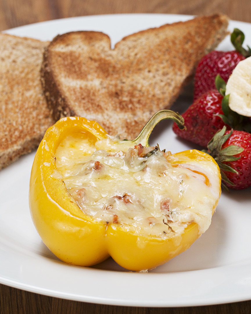 You Should Definitely Make These Bell Pepper Egg Cups For