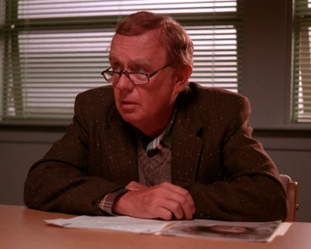 Doc Hayward (Donna's dad) was actually co-creator Mark Frost's father IRL, Warren Frost.