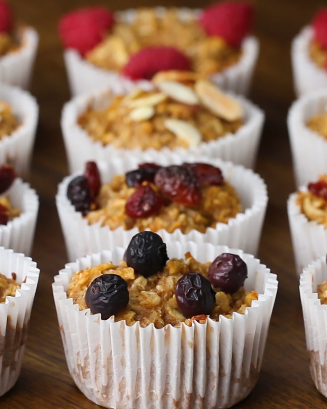 These Apple Cinnamon Oatmeal Muffins Are Great For Breakfast On-The-Go