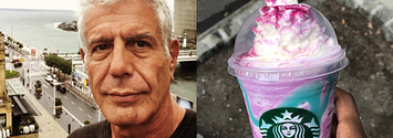 Here's What Anthony Bourdain Thinks Of The Unicorn Frappuccino