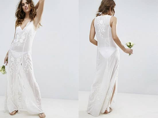 Would you actually wear these wedding dresses would you wear this slightly see through wedding dress junglespirit Image collections
