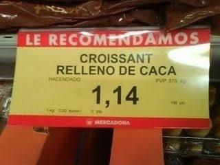 Eh, respeta los croissants.