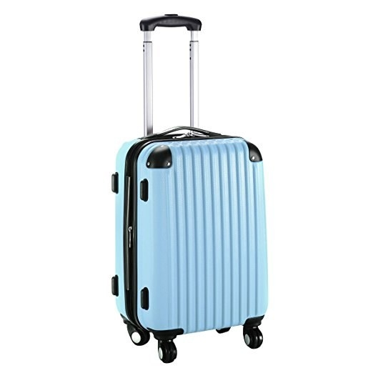 1. An Expandable Trolley Suitcase That You Can Jam With All Your Stuff.