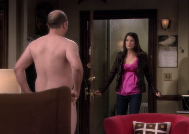 When the whole gang (even Marshall!) slut-shamed Robin for sleeping with the Naked Man.