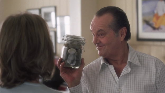 Harry (Jack Nicholson) in Something's Gotta Give