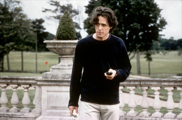 Daniel (Hugh Grant) in Bridget Jones's Diary