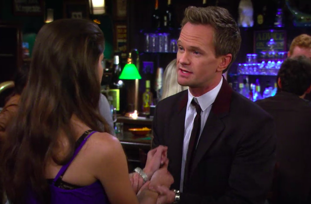 And when Barney went back to being a sleaze to women after he and Robin split up.