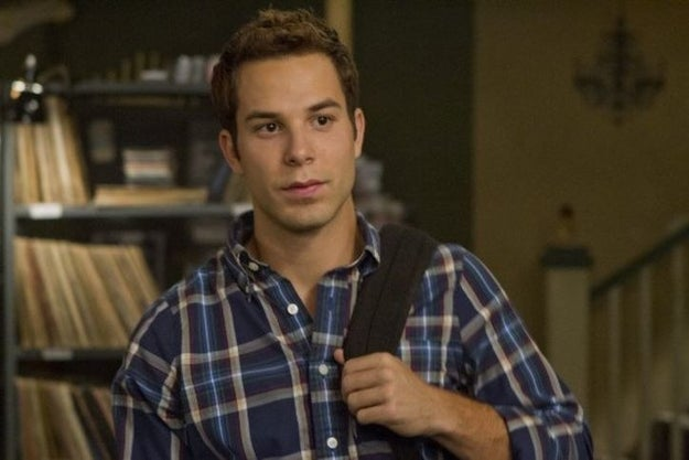 Jesse (Skylar Astin) in Pitch Perfect