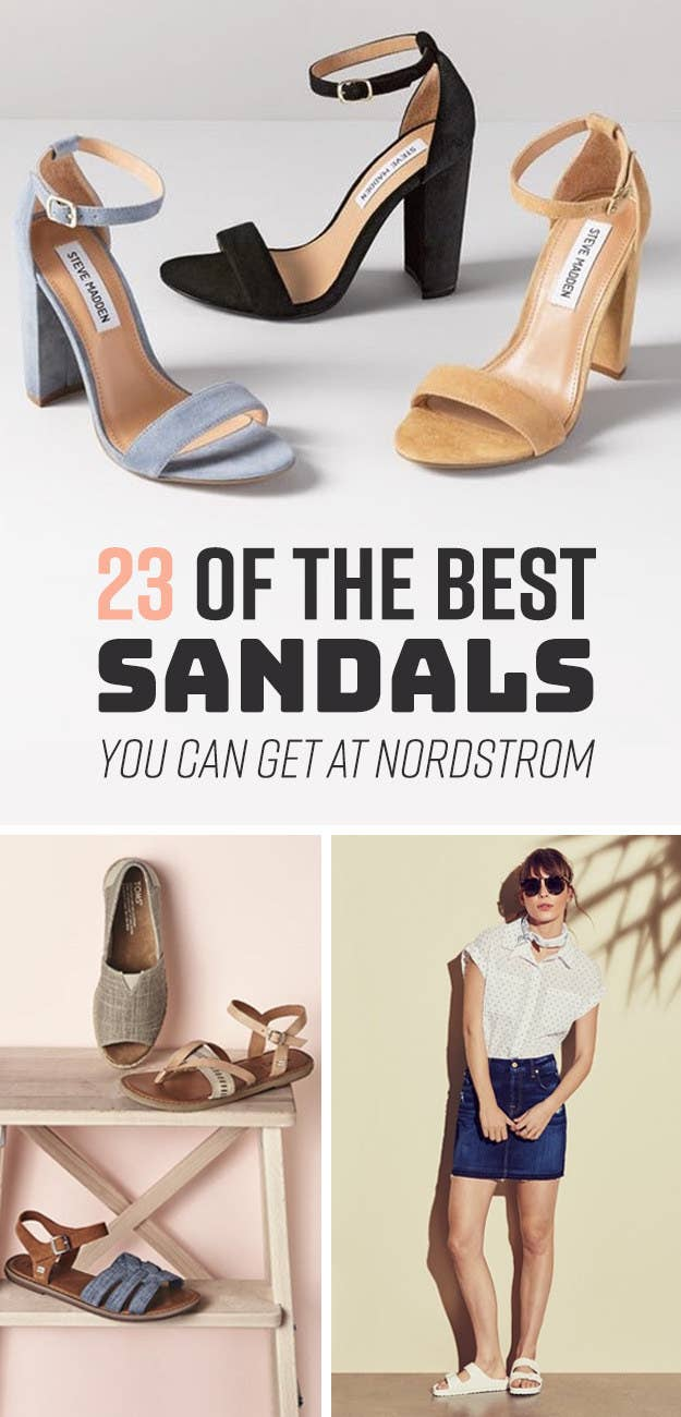 8d325d700a69c 23 Top-Rated Sandals From Nordstrom You ll Want To Wear All Summer