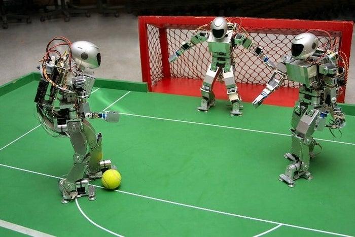 Hockey, fútbol, sumo y kung-fu, entre otras.