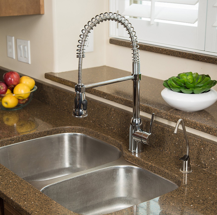 "Promising review: ""The faucet is great, easy to install and works wonderfully. It's better than the $300 faucet I bought which was similar. I highly recommend this faucet and am ecstatically pleased with my purchase."" --Amazon CustomerGet it on Amazon for $99.99 (down from $179.99)."
