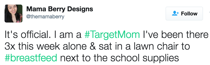 Target is sometimes more comfortable than your own home.