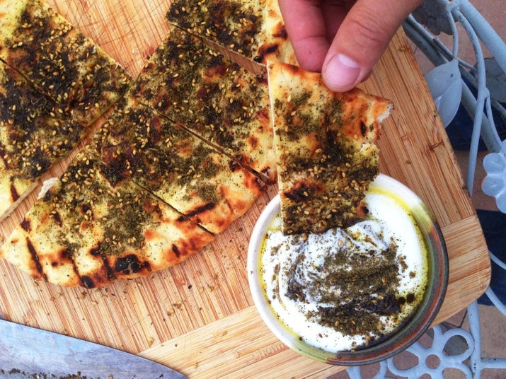 If you haven't tried za'atar yet, do yourself a favor and do it asap.Get the recipe here.