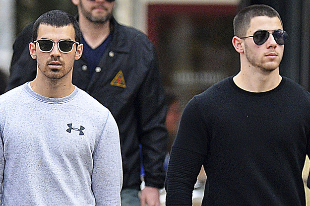 If You Don't Care About Two Hot Jonas Brothers Walking Down The Street, Then Don't Fucking Read This!!!