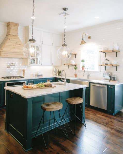 Minimalistic Design And Gorgeous Little Touches Like Those Light Fixtures Chip Joanna Have Redefined The Term Dream Kitchen