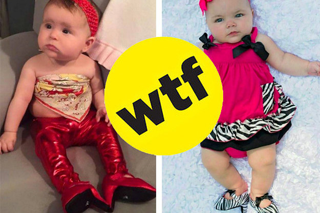 Somebody Made High Heels For Babies And