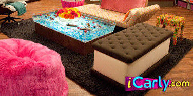 The Ice Cream Sandwich Bench From ICarly