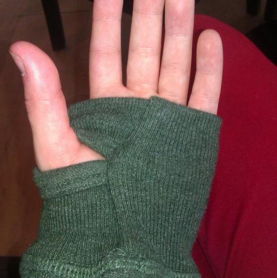 Si los suéteres no traían hoyos, tú se los hacías.