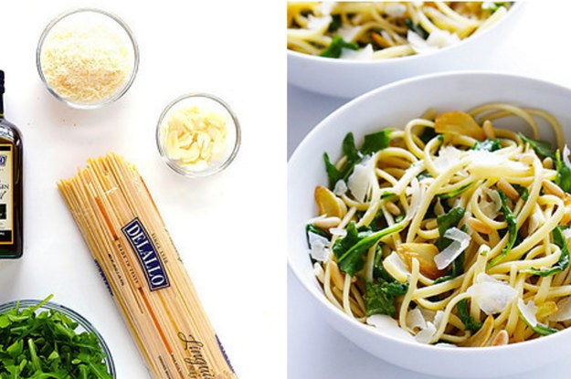 19 Ridiculously Good Five-Ingredient Pasta Recipes