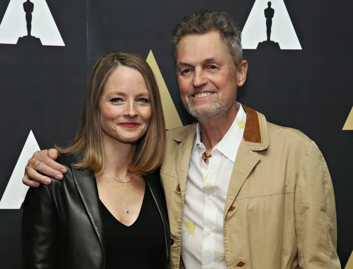 Demme and Silence of the Lambs star Jodie Foster in 2016.