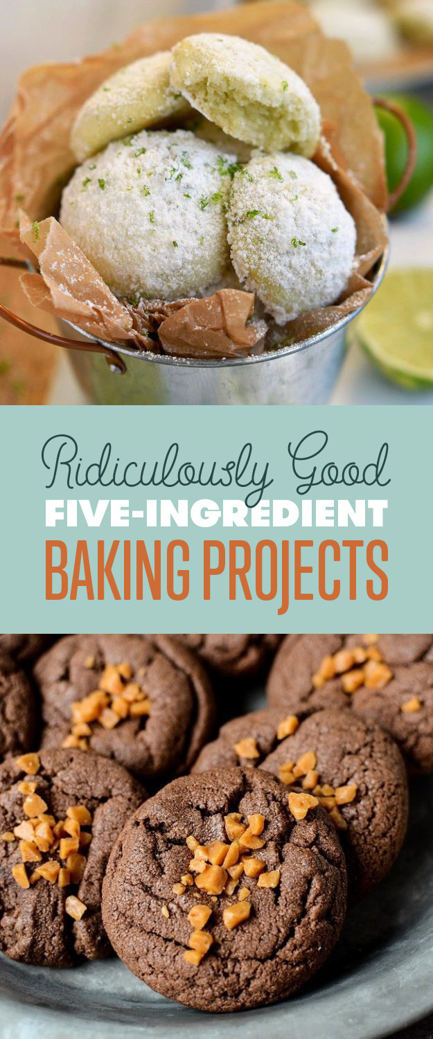 7 Five-Ingredient Baking Projects You Should Make This Weekend