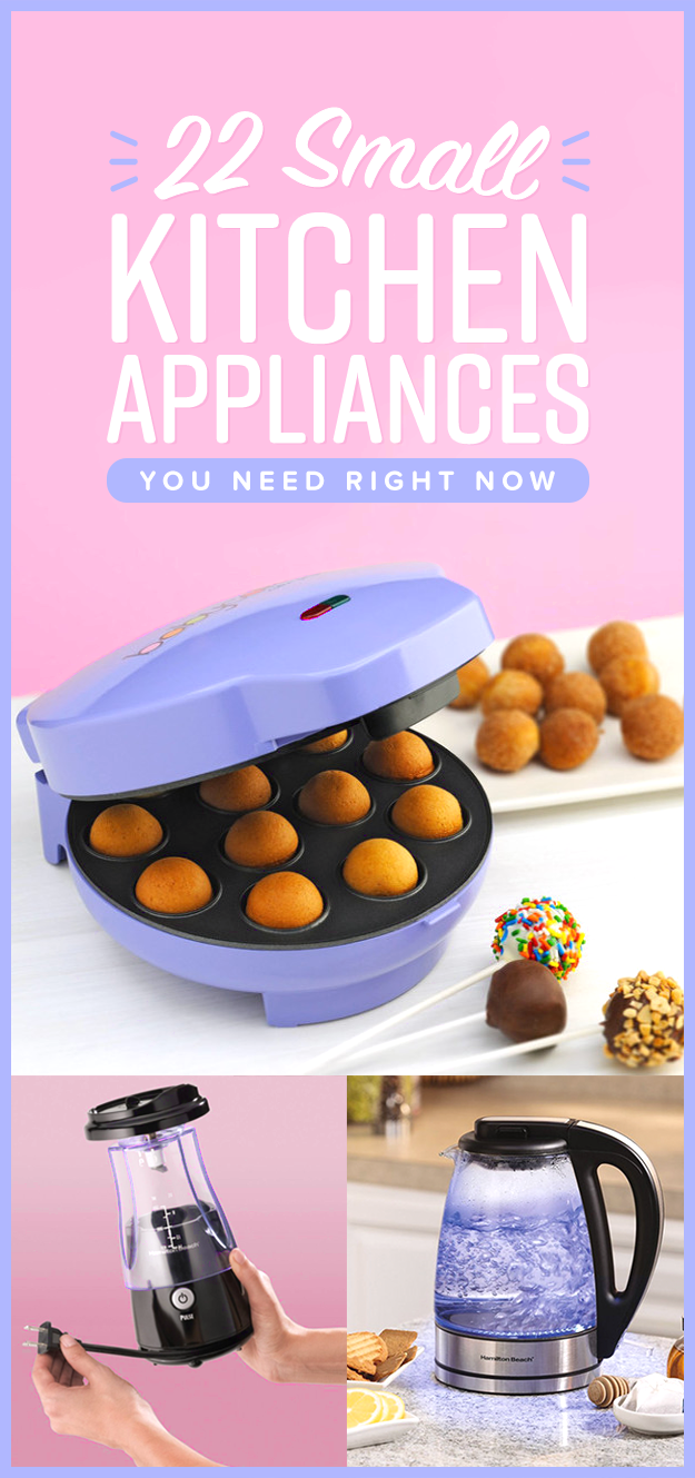 22 Small Kitchen Appliances You'll Actually Want To Use