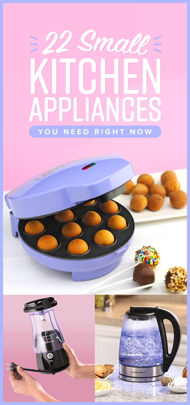Small Kitchen Appliances 22 Small Kitchen Appliances Youll Actually Want To Use