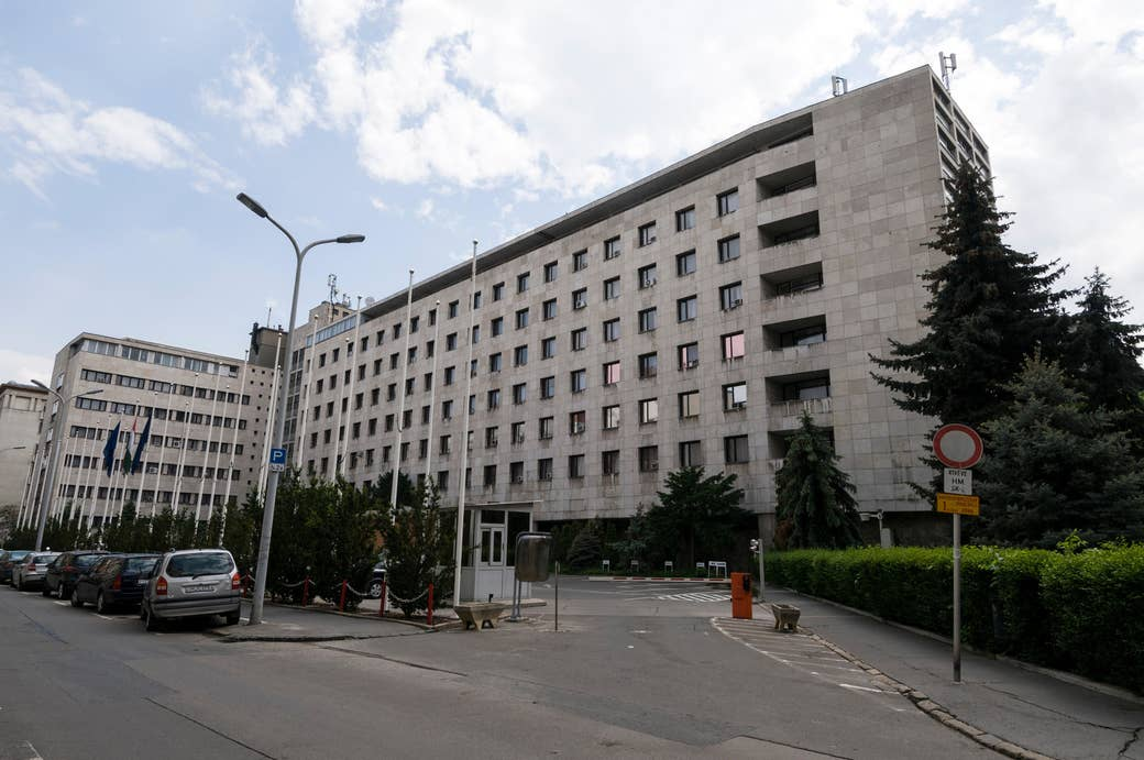 Ministry of Defense in Budapest.