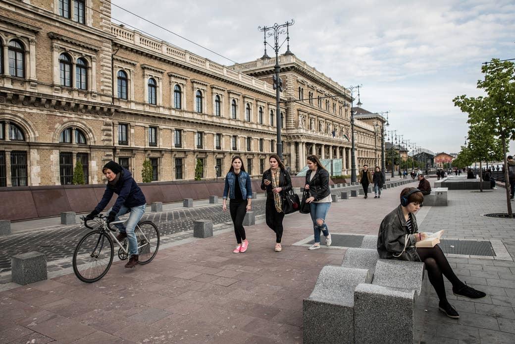 Corvinus University in Budapest.