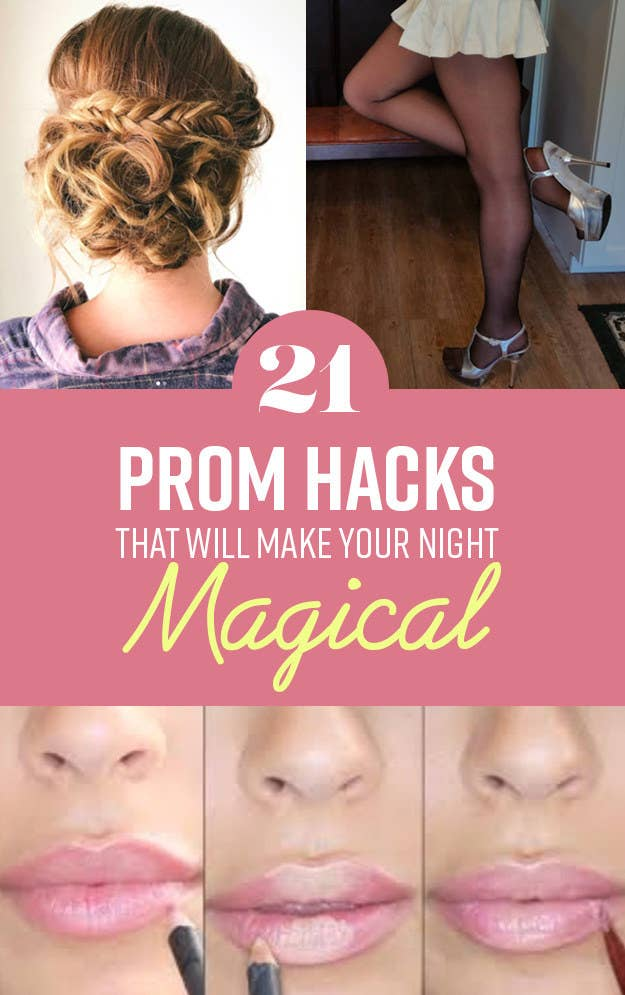 358bf76b88 21 Genius Prom Hacks You ll Want To Take Note Of Before Your Magical ...