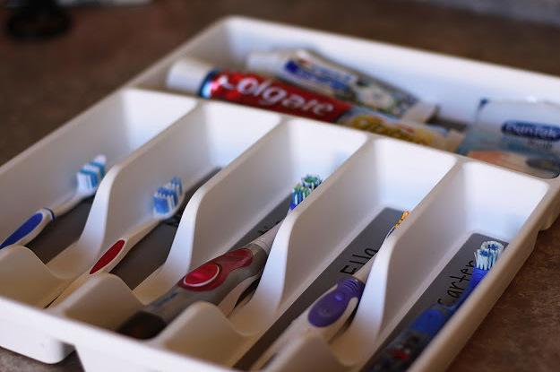 Toothbrush Holder Ideas Bathroom Organization