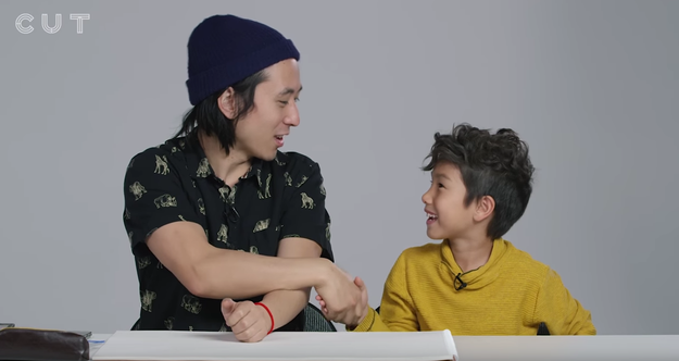 In this adorable video from WatchCut, talented illustrator Koji introduces himself to a bunch of cute kids, then asks what they imagine God looks like...
