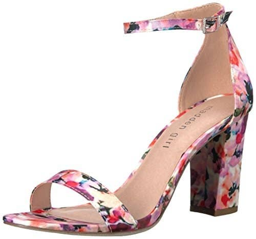 daa29a70aa24 Some floral-print heels so you can be the last one standing on the dance  floor.