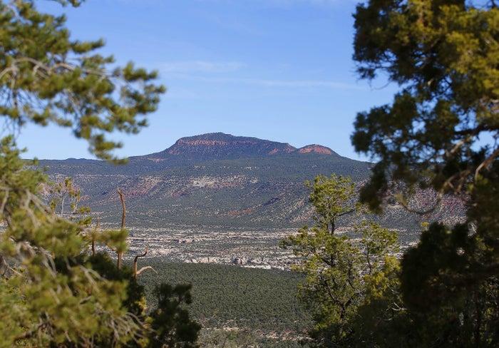 The Bears Ears National Monument near Blanding, Utah.